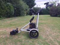 Electric golf trolly