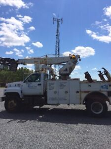 Cableplacing Bucket truck for sale