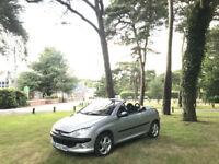 2002/52 Peugeot 206 Coupe Cabriolet SE Silver