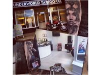 Full tattoo studio business shop for sale