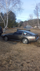 1986 nissan 300zx turbo 3000$ obo or trades for a car.