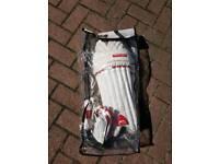Boys Slazenger Cricket Pads+Gloves