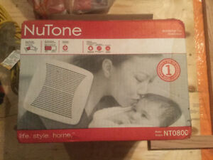 Brand New in Box -  NuTone Ventilation Fan for bathroom (80CFM)