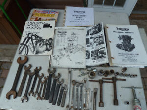 Triumph Twin Shop Manual & Tools