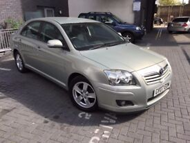 Toyota Avensis 1.8 VVT-i T3-X 5-Door, FSH, Genuine Warranted Low Mileage, HPI Clear.