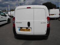 Peugeot Bipper 1.3 HDI VAN DIESEL MANUAL WHITE (2013)