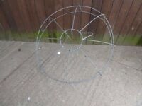 Large Wire Hanging Basket Frame Approx 75cm wide Delivery Available £25