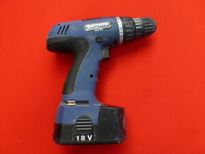 Powersmith 18V cordless drill with accessories needs new battery
