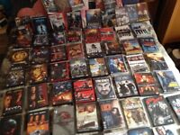 75 DVDs as New And a Great Selection ,Action ,Western,Comedy ,Horror,Thriller,all Boxed Original ..
