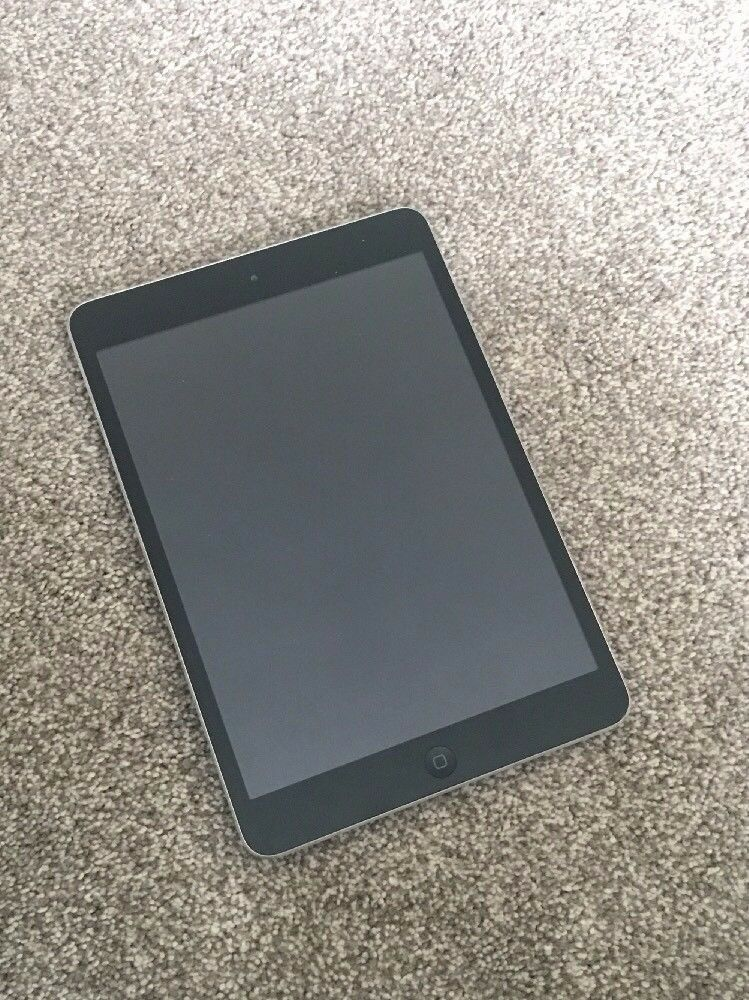 APPLE iPad MiniSpace Greyin Purton, WiltshireGumtree - APPLE iPad Mini – Space Grey Supplied in excellent condition in a Blue holder complete with original charger and reset to factory settings the specs are 16GB space grey 162 pixels per inch Apple A5 processor Equipped with dual band 802.11n WiFi and...