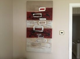 Large abstract canvas from NEXT