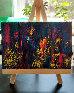 Toiles, acrylique, art abstrait - Abstract paintings