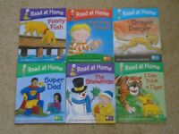 Read At Home Books x 6 by Oxford Reading Tree