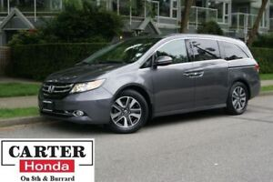 2015 Honda Odyssey Touring + ACCIDENTS FREE + LOW KMS! + CERTIFI
