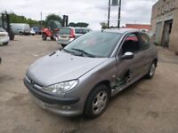 PEUGEOT 206 - GX52DZU - DIRECT FROM INS CO