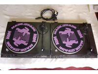 Technics Turntables FG Servo, Pair of model SL-BD22 in Working Order