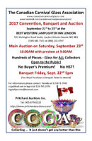 2017 Canadian Carnival Glass Association Annual Auction