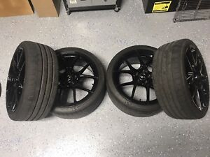 """RennMotorsport 19"""" Wheels and Michelin PSS Tires (LIKE NEW)"""