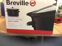 Breville - Black 4.5 L Slow Cooker