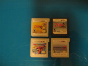 3DS Games (without cases)