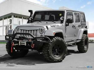2014 Jeep Wrangler Unlimited $294 b/w tax in | Sahara | Cloth Se