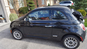 2012 Fiat 500c Convertible: LOW MILEAGE AND PRICE!