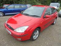 Ford Focus 1.6 ZETEC (red) 2003