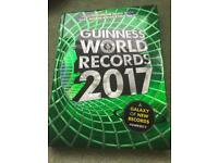 Hard back Guinness book of records 2017