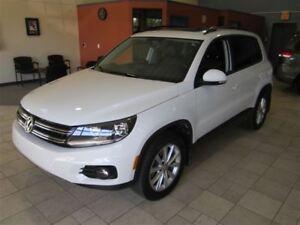 2015 Volkswagen Tiguan COMFORTLINE AWD MOON ROOF (NO PST) ONLY 2
