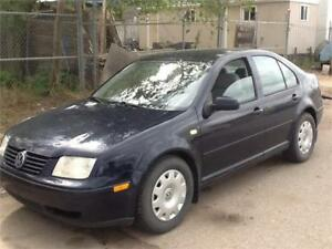 2000 Volkswagen Jetta GLS $2995 MIDCITY 1831 SASK AVE