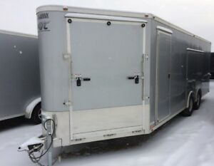 2016 ATC Toyhauler Enclosed Car Hauler Trailer