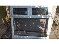 Used upvc double glazed window.