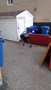 FREE CHARCOAL GRILL - Missing a leg