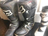 ADULTS MOTOCROSS BOOTS