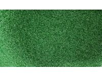 Artificial grass 13m x0.8m. Ideal for balconies, golf mats and Ts or display purposes, pet friendly