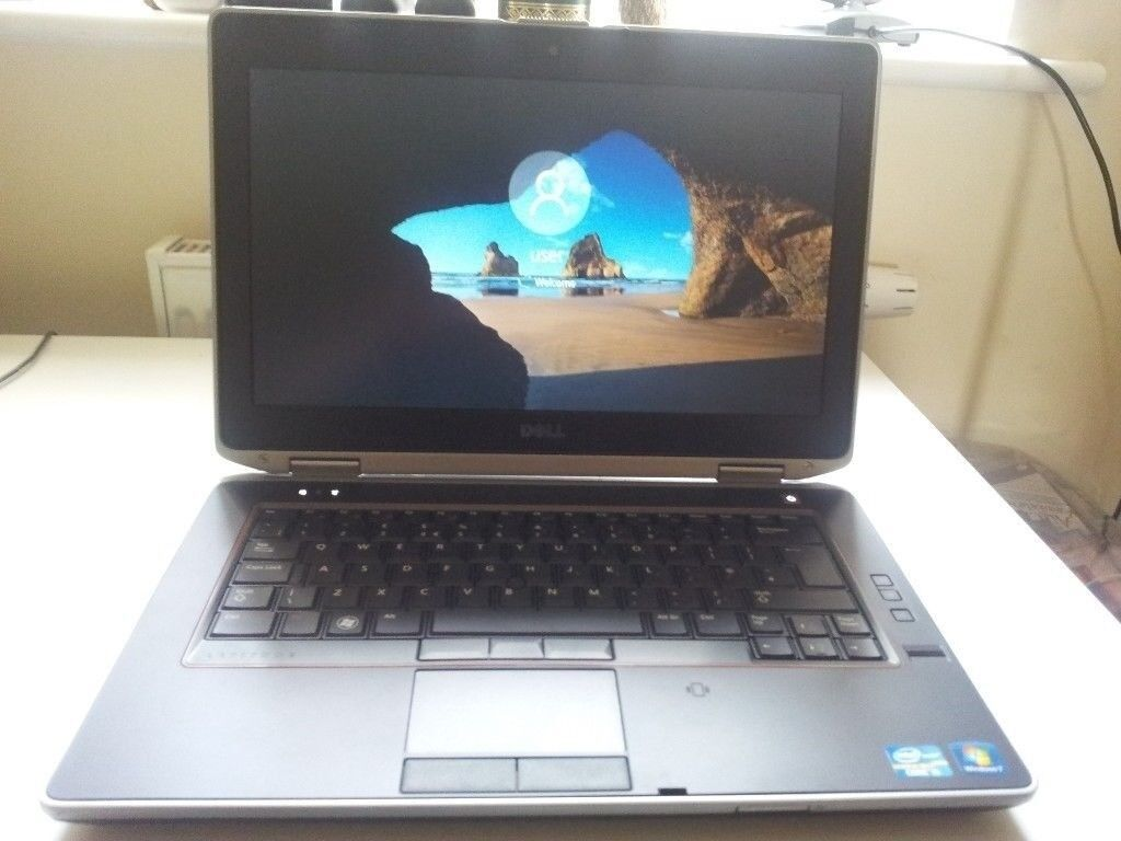 """laptop dell latitude e6420 intel i5in Norwich, NorfolkGumtree - laptop dell,intel i5 cpu,screen size 14"""",installed with fresh activated windows 10,has 6gb ram memory and 500gb hard drive,internet ready built in wifi,webcam and dvdr drive,also has hdmi socket,battery holds charge comes with mains power charger"""