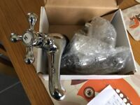 Viscount bath taps chrome