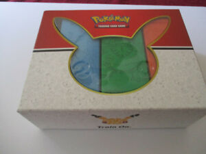 Pokemon Trading Card Display Boxes (only)--Train On--3 Boxes