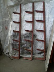 Racks for storing metal tube, bar, rod X 3
