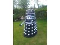 Dalek, life/full size Dr Who Dalek prop. Screen accurate, fibreglass manual powered.