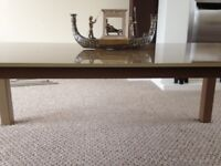 Coffee Table, Large, Glass Top