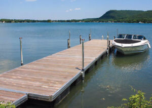1000 islands Dock for 2017 lease