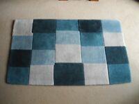 Blue & Grey Handmade Carpet 1500 x 900 approx.