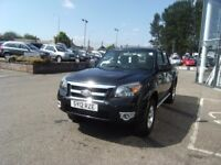 2012 12 FORD RANGER 2.5 XLT 4X4 DCB TDCI 1D 143 BHP **** GUARANTEED FINANCE **** PART EX WELCOME ***