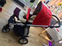 Mamas & Papas Sola pram push chair cot