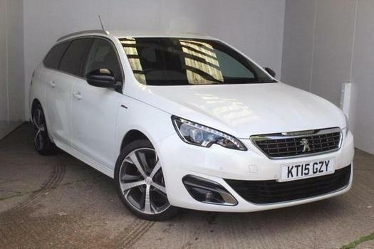 2015 peugeot 308 sw 2.0 bluehdi 150 gt line 5 door diesel estate