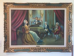 Charles Garo original oil for sale