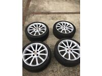MGF / TF 11 Spoke wheels & tyres - Good Condition.