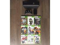 Xbox 360 Slim Console + Games + 320GB HD