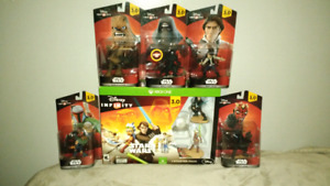 Disney infinity 3.0 and 7 Characters